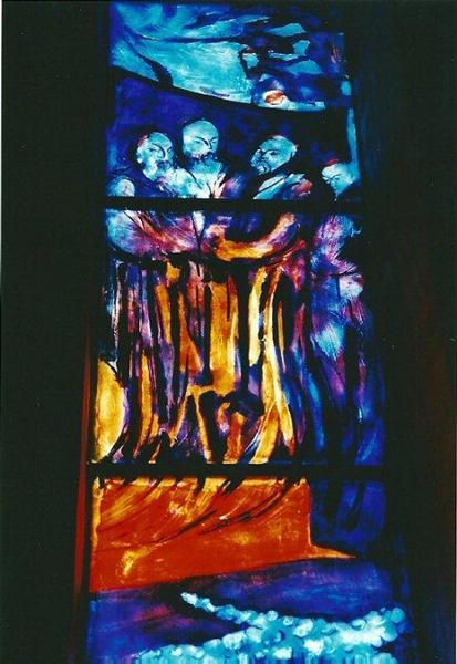 memorial la trappe vitrail fontaine
