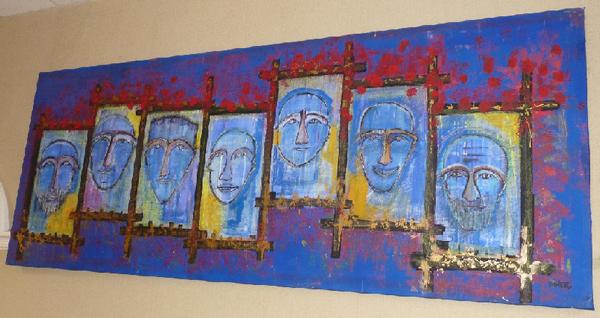 memorial trappe peinture catherine