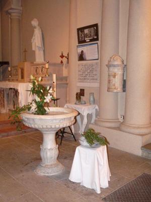 retour sur baptistere