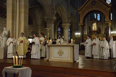retour sur messe st ambroise